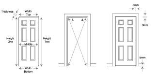 Exceptional Doors Size Standard Front Cool Door 94. Standard Bedroom Double Door