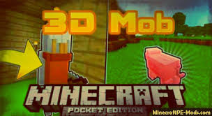 3d texture packs upgrade mobs to 3d minecraft pe texture pack 1 2 0 1 1 5 1 1 0