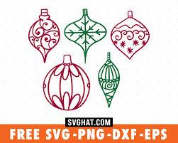 Christmas Balls Christmas Svg Files Free For Cricut And Silhouette Free Christmas Svg Cut Files Merry Christmas Svg Svg Christmas Tree Christmas Svg Cut File Svghat