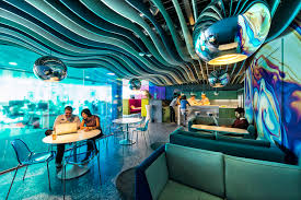 google office california. Google Campus Dublin - Gasworks Microkitchen Floor Identity: Waterworld Foto Peter Wurmli Office California