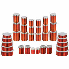 klassic vimal 34 pcs red full container set vm098 steel containers home18