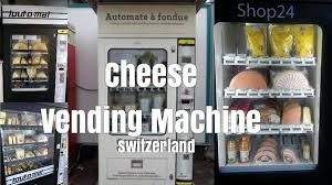 Bakery Vending Machine Cool Cheese Vending Machine In Switzerland By Lustenberger Durst SA
