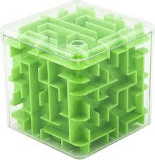 <b>Эврика Головоломка</b>-лабиринт <b>Куб</b> цвет зеленый — купить в ...