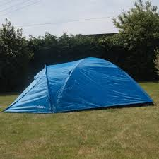 Andes 4 Person Man Berth <b>Double Skin</b> Camping/Festival <b>Dome Tent</b>