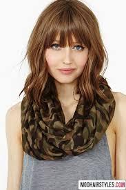 Hairstyle Medium Long Hair medium length hairstyles with bangs billedstrom 7542 by stevesalt.us