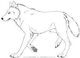 Dessin A Imprimer Chien Loup
