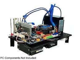LIAN LI PCT60B Black Aluminum ATX  MicroATX TEST BENCH Computer Test Bench Computer
