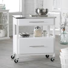 white kitchen cart with stainless steel top elegant kitchen island cart stainless steel ikea drawers with