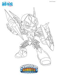 Skylanders GIANTS coloring pages - 52 free online printables for kids