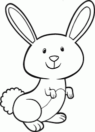 free bunny coloring pages azspring