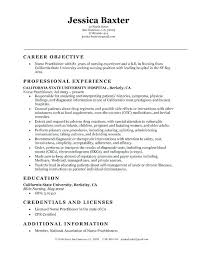 Sample Entry Level Nurse Resume Example Student Nurse Resume Free