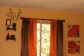 what color curtains go with burnt orange walls redglobalmx org