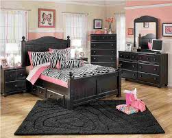 black bedroom furniture for girls. Interesting Black Excellent Ashley Furniture Cribs Girls Bedroom Set White Pink Black Bed  Mirror Wardrobe Throughout For