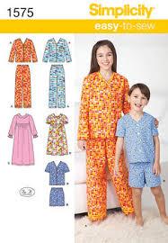 Pajama Patterns Magnificent Sleepwear Sewing Patterns For Women Men Children JOANN