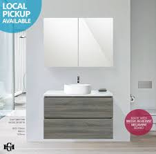 Light Gray Bathroom Wall Cabinet Astonishing Grey Wood Wall Bathroom Modern Gray Wooden Tiled