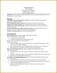 Sample Resume For Internship Templates Internses Internships Resumes