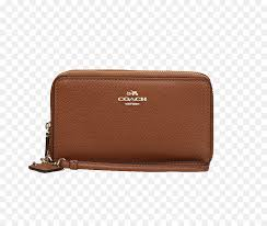 Wallet Download Leather - Ms. brown leather wallet COACH