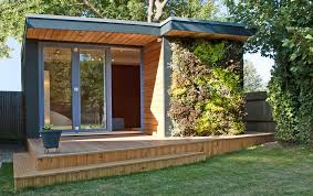 wooden garden shed home office. Contemporary Gardens Shed Modern With Garden Office Studio Wooden Home O