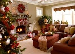 living room decorations double white candles white fireplace mantel decorated colorful moroccan pattern carpet wreath ornaments gold frame glass