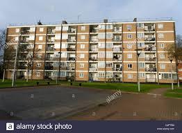 Block Of Council Flats Hackney London Uk Stock Photo 37228121