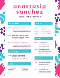 Colorful Cute Illustrated Creative Resume Templates By Canva