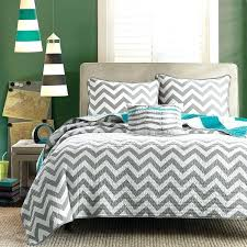 gray and white chevron bedding teal and white comforter set black sets striped bed decor bedding