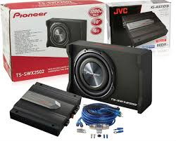 pioneer 8 inch subwoofer. pioneer ts-swx2502 w/ jvc ks-ax3101d and atrend ss8 (factory refurbished) 8 inch subwoofer