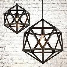 loft industrial iron cage. Metal Lamp Guard Industrial Vintage Ironwork Ceiling Pendant Loft Cage Light 1 Iron