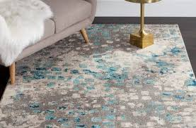 inspiring wayfair round area rugs on found it at supply crosier gray light blue rug