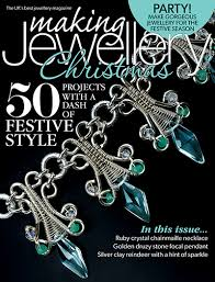 step inside our december issue for the best party jewellery making projects we show you how to make a silver clay reindeer necklace