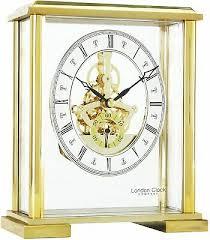 london clock company square black glass