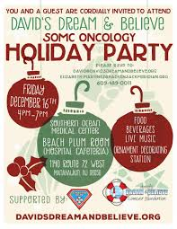 events archive david s dream and believe cancer foundation somc oncology holiday party