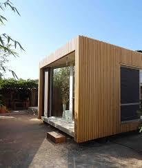 Extension De Maison En Ossature Bois Bardage Claire Voie