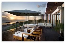 Download Luxury Terrace HD Wallpaper