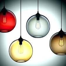 multi colored glass pendant lights lighting design ideas oval dragon egg shaped amazing pattern natural stone