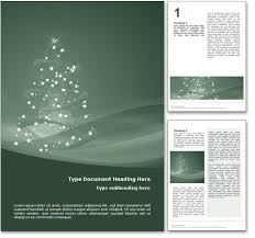 holiday template word royalty free happy holidays microsoft word template in green