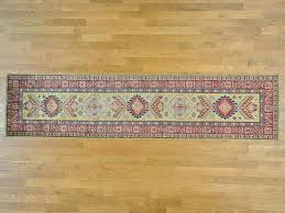 2 8 x11 5 runner tribal design super kazak hand knotted oriental rug sh25889