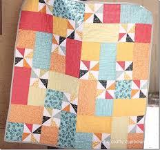Pinwheel Baby Boy Quilt by the Crafty Cupboard. | fabric and ... & Pinwheel Baby Boy Quilt by the Crafty Cupboard. Adamdwight.com