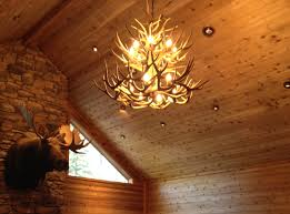 66 most divine deer antler lamps moose chandelier light fixture lights white cast horn designs ceiling