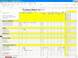 Skill Set Template It Skill Set Matrix Template Ndtech Xyz