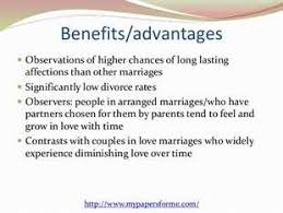 advantages and disadvantages of arranged marriage consumer culture essay what are the advantage and disadvantages of arranged marriage