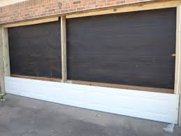 home revonation new garage door installation