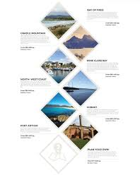 Tour Company Website Design Out There Tassie Tours Company Website Design On Behance