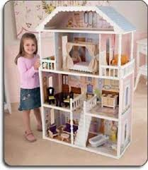 wooden barbie doll house furniture. Barbie Size Dollhouse Furniture Girls Playhouse Dream Play Doll House Wooden
