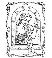 Mother gothel free tangled coloring page to download : 20 Beautiful Rapunzel Coloring Pages For Your Little Girl