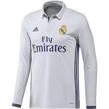 adidas long sleeve. amazon.com : 2016-2017 real madrid adidas home long sleeve shirt sports \u0026 outdoors