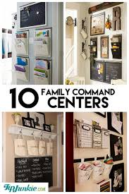 kitchen office organization. 10 stylish family schedule and command center ideas organize kitchen office organization e