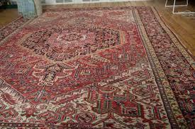 carpet 9x12. vintage heriz carpet 9x12