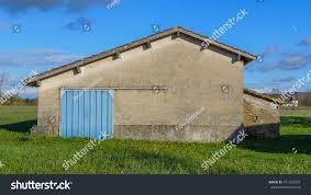 Light Blue Barn Door Blue Sky Blue Door Light Blue Stock Photo Edit Now 471292907