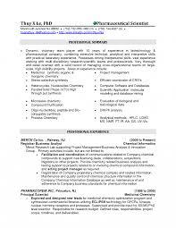 Chemist Resumes Example Professional Biochemist Again Summary Is